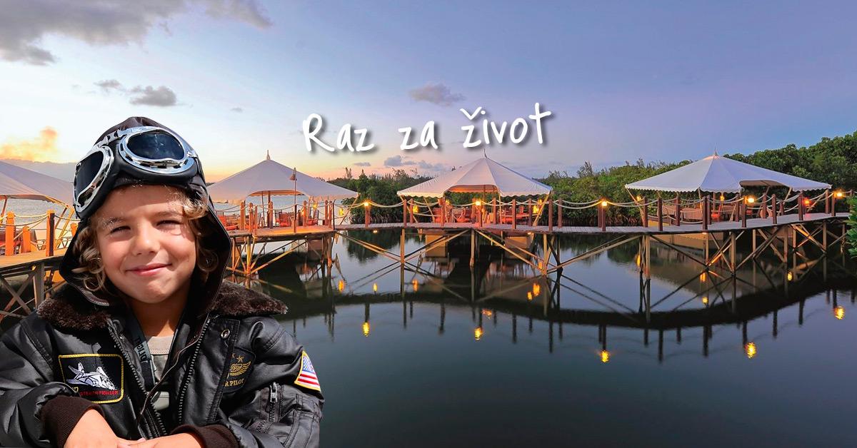 Toto je jeden z najromantickejších hotelov v Indickom oceáne!