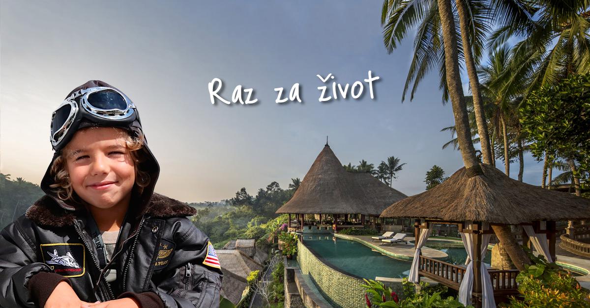 Vďaka tomuto hotelu nikdy na Bali nezabudnete!