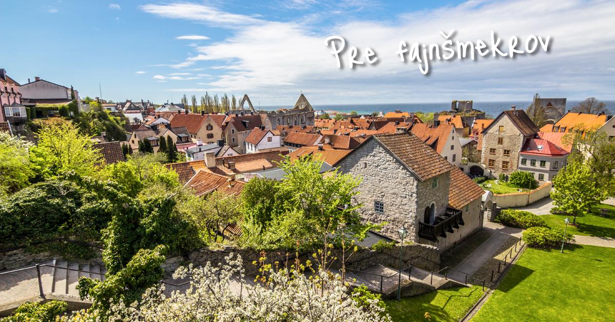 Visby - stredoveký klenot, kde stále žijú Vikingovia