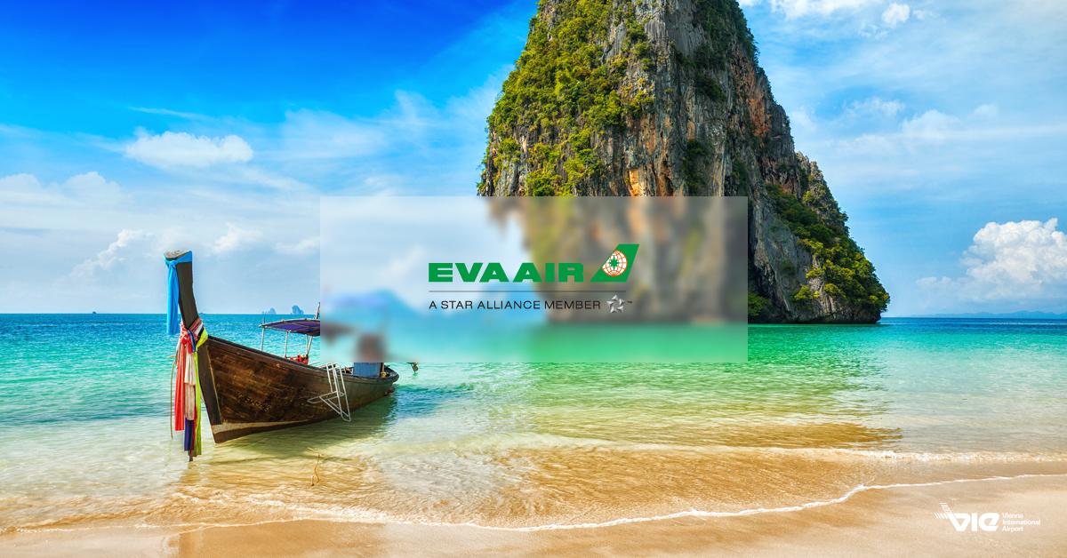 Prémiová dovolenka v Krabi s EVA Air