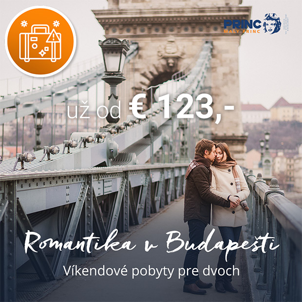 Maďarsko kampaň - Budapešť pre páry