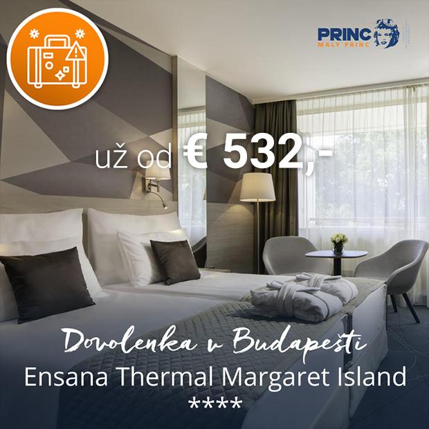 Maďarsko kampaň - Ensana Thermal Margaret Island