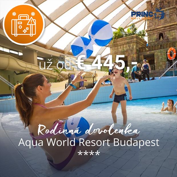 Maďarsko kampaň - Aquaworld Resort Budapest