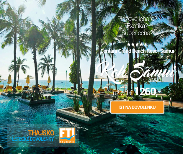 Thajsko - Centara Grand Beach Resort Samui