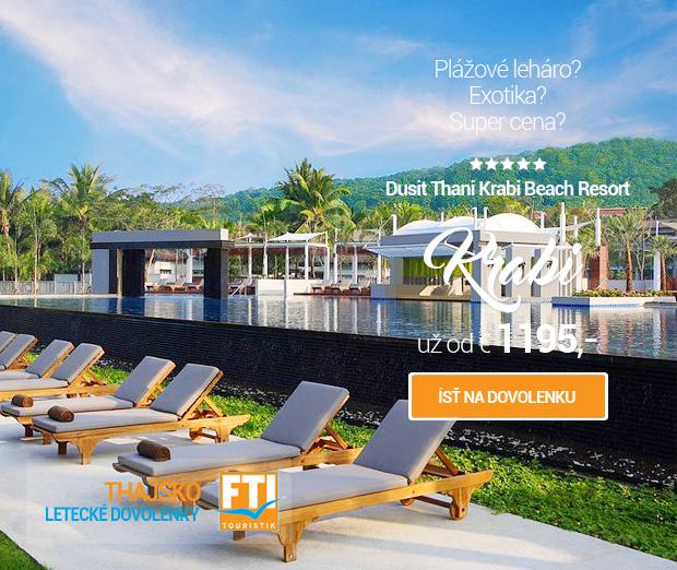 Thajsko - Dusit Thani Krabi Beach