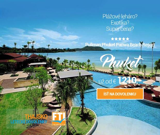 Thajsko - Pullman Phuket Panwa Beach Resort