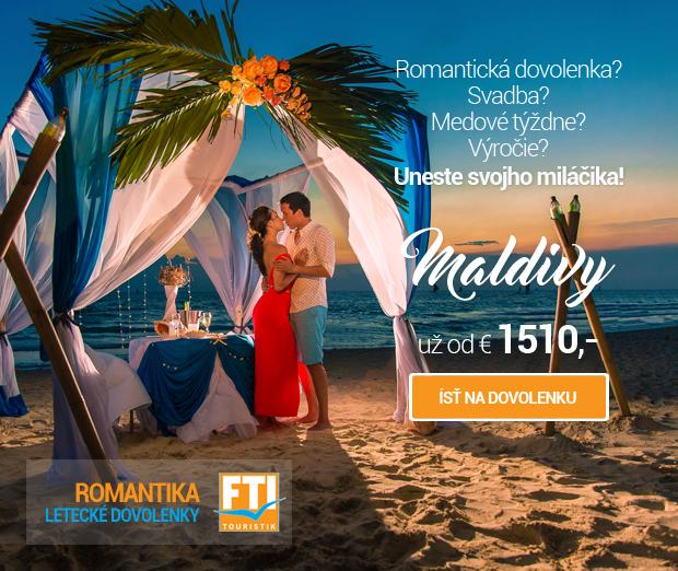 Romantika - Maldivy