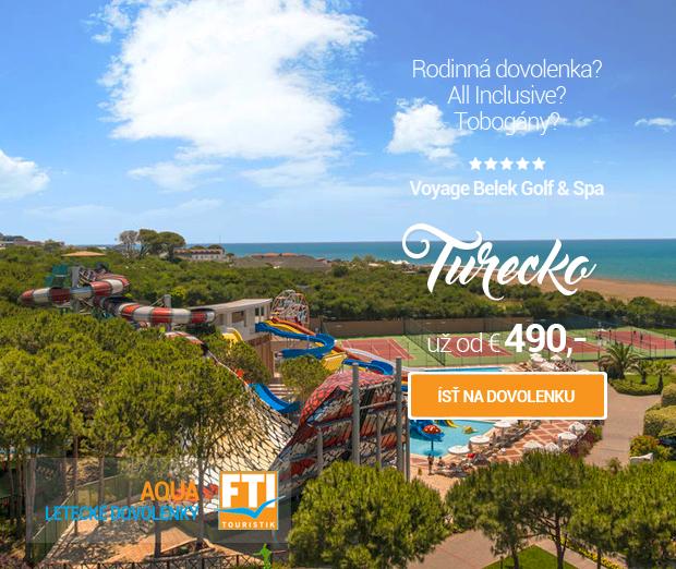 Aqua - Voyage Belek Golf & Spa